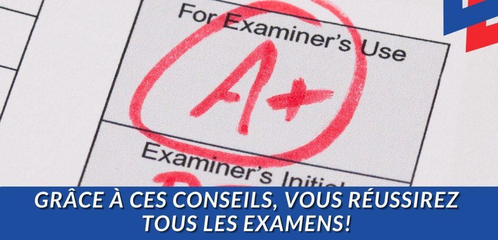 Moyens légaux de passer un examen sans étudier