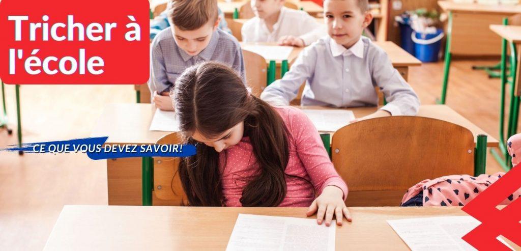Tricher à l'école
