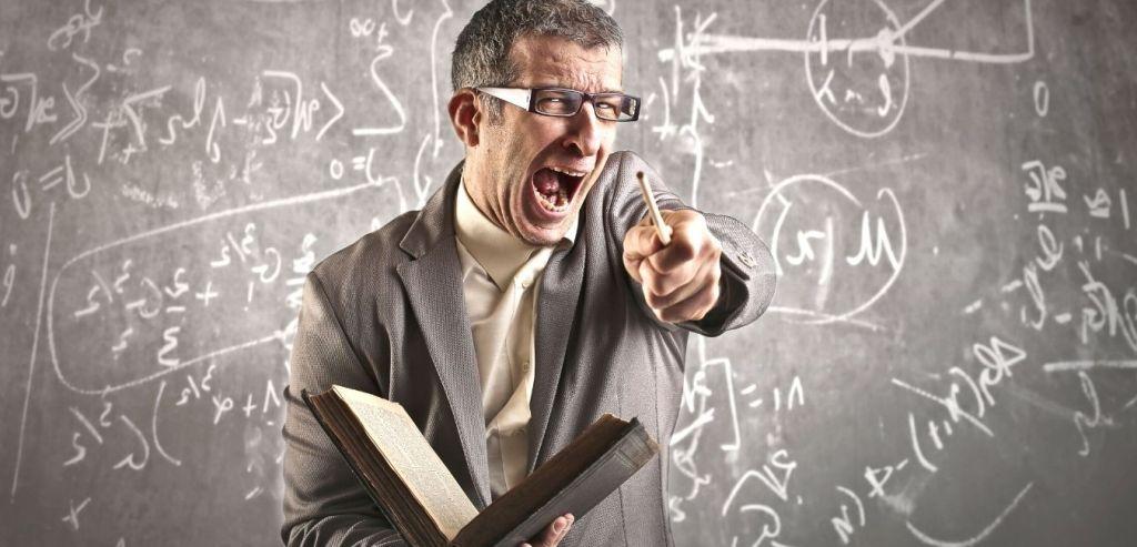 L'enseignant retire des cours ceux qui ont un mauvais INTERNET